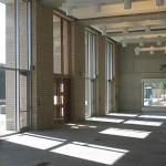 Light in narthex windows