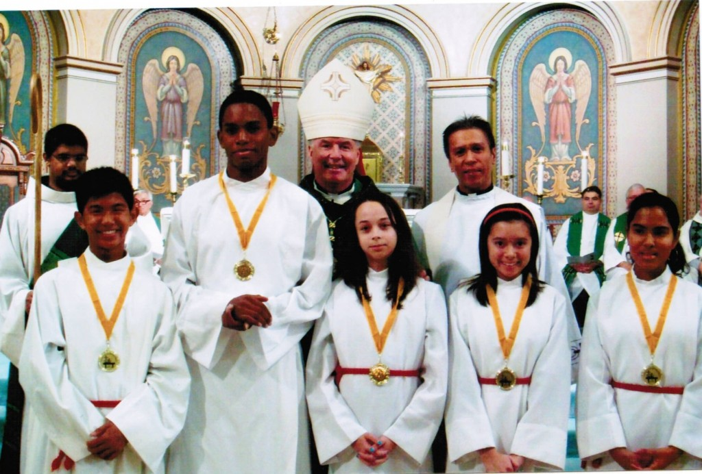 2012 Winners of Altar Servers Award
