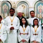 Winners of Altar Servers Award