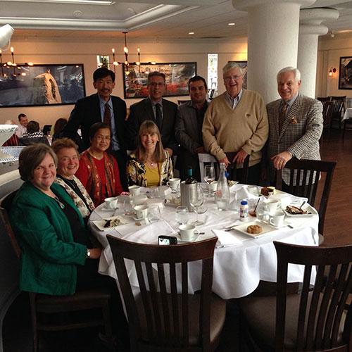 St. Gabriel's Staff Lunch