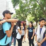 Youth street patrol getting ready